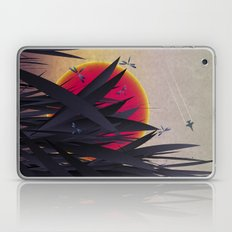Red Heat with Dragonflies Laptop & iPad Skin