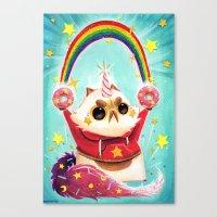 Donut Power! Canvas Print