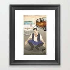 Han Cholo Framed Art Print