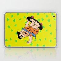 Shred Flintstone Laptop & iPad Skin