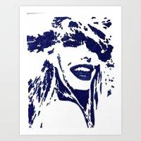 Blue II Art Print