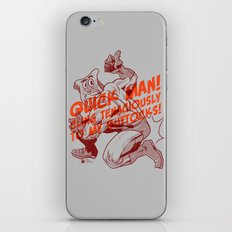 Powdered Toast Man -after kirby iPhone & iPod Skin