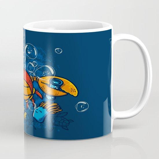Jellyfishes Birth Mug