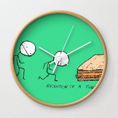 Evolution of a Tuna Melt Wall Clock