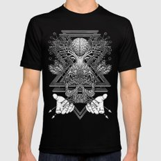 Winya No. 57 SMALL Black Mens Fitted Tee