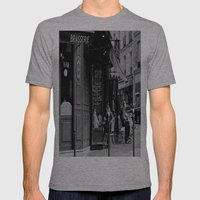 At The Brasserie Mens Fitted Tee Athletic Grey SMALL