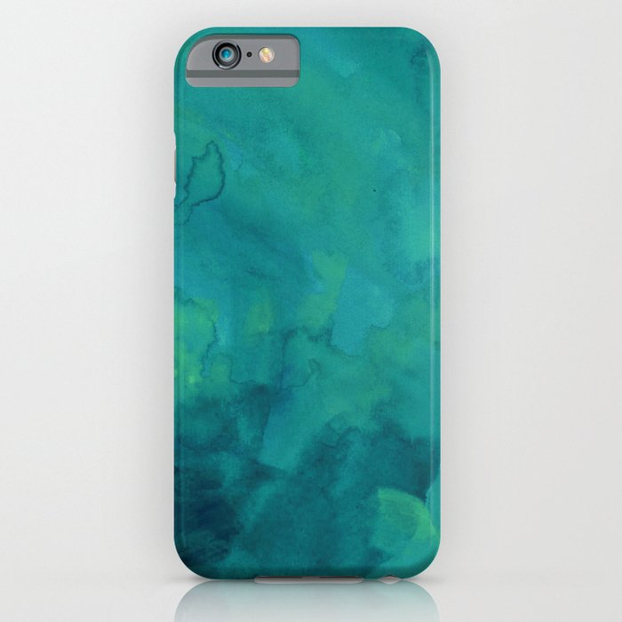 watercolor green and blue iphone amp ipod case by andre d