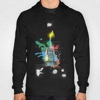 Swan Bell Tower Abstract Hoody