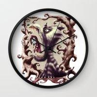 Little Red Wall Clock