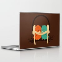 baby Laptop & iPad Skins featuring Baby It's Cold Outside by Picomodi