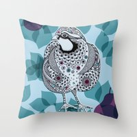 Partridge Throw Pillow