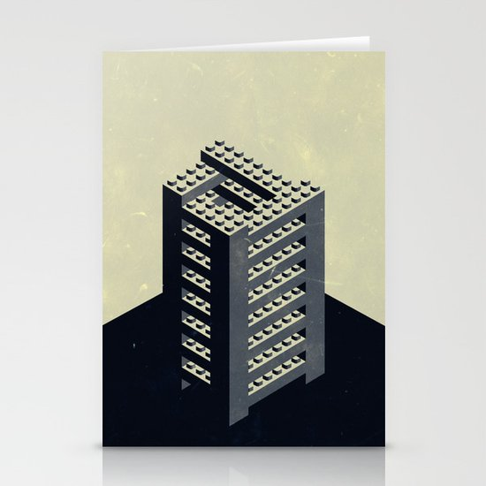 The Impossible Tower Stationery Card