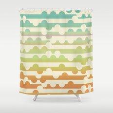 Retrometry VII Shower Curtain