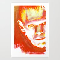 Frankenstein, What Eternity Is Art Print