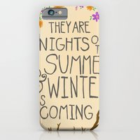 iPhone & iPod Case featuring Winter is Coming by christinarashel