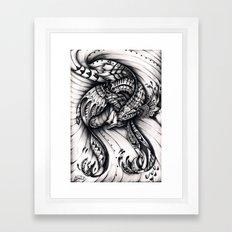 Moondancer Framed Art Print
