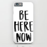 iPhone & iPod Case featuring Be Here Now by Jen Posford
