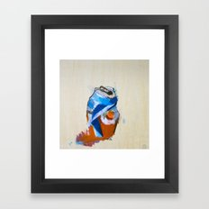 Orange Crushing It Framed Art Print
