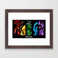 The Class Bookmark Print Framed Art Print