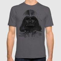 Darth Vader Mens Fitted Tee Asphalt SMALL