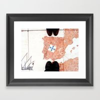 Feet Framed Art Print