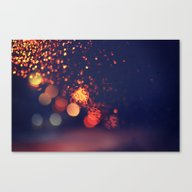 Canvas Print featuring Driving In The Rain by Lawson Images