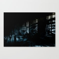 Ghost Building Canvas Print