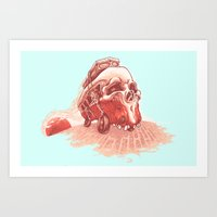 Walking To Dead! Art Print