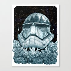 Stormtrooper Treehouse Canvas Print