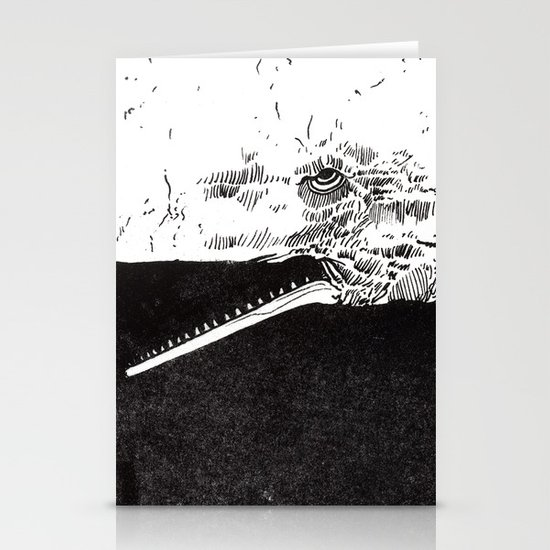 Leviathan Stationery Card