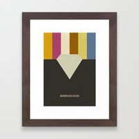 Reservoir Dogs Framed Art Print