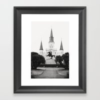 Heart And Soul Of New Or… Framed Art Print