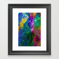 Mind Jungle Framed Art Print