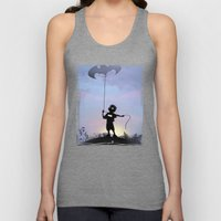 Bat Kid Unisex Tank Top
