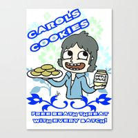 carol's cookies Canvas Print