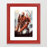 Mantis Framed Art Print