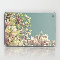 Magnolia in Bloom Laptop & iPad Skin