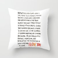 The Foundation Of Such A… Throw Pillow