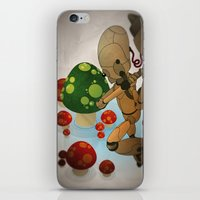 The pursuit of human soul iPhone & iPod Skin