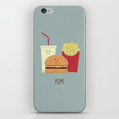 Fast Food iPhone & iPod Skin