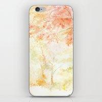 Memories of Autumn iPhone & iPod Skin