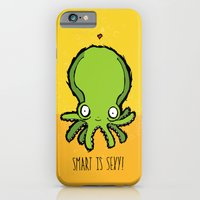 iPhone & iPod Case featuring Smart is Sexy by Monkey Chow