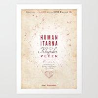 Humanitarian Concert Art Print