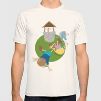 Jack & Jill Mens Fitted Tee Natural SMALL