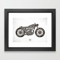 Horse Power By Bmd Desig… Framed Art Print