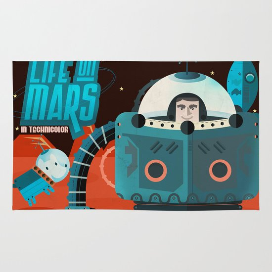 Life on mars Area & Throw Rug