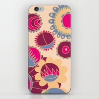 Flower Doodle iPhone & iPod Skin