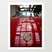 Porsche 911 / I Art Print