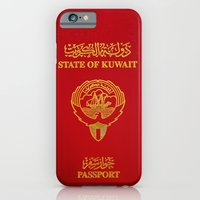 Kuwaiti Pass Port Red iPhone 6 Slim Case
