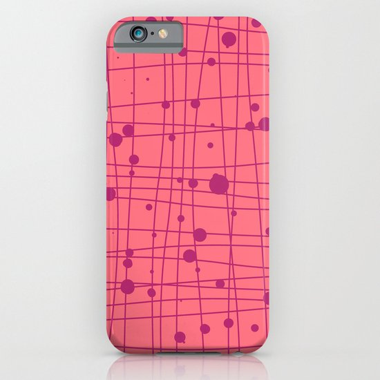 Woven Web pink iPhone & iPod Case